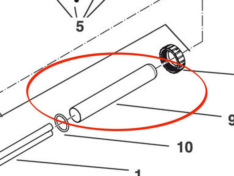 Ersatz Quarzglas UVC 24 FiltoClear