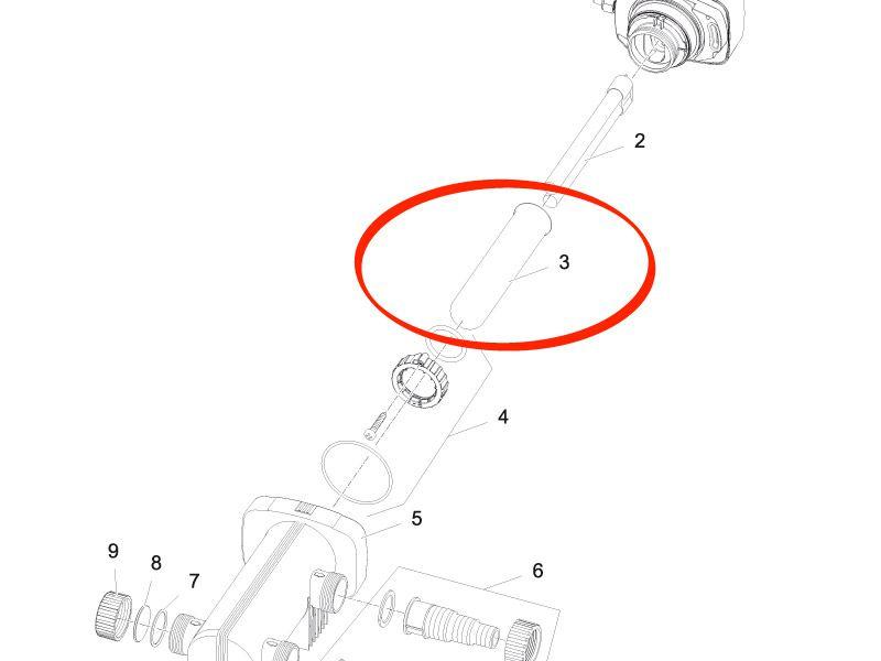 Ersatz Quarzglas UVC 18 Vitronic 18 W