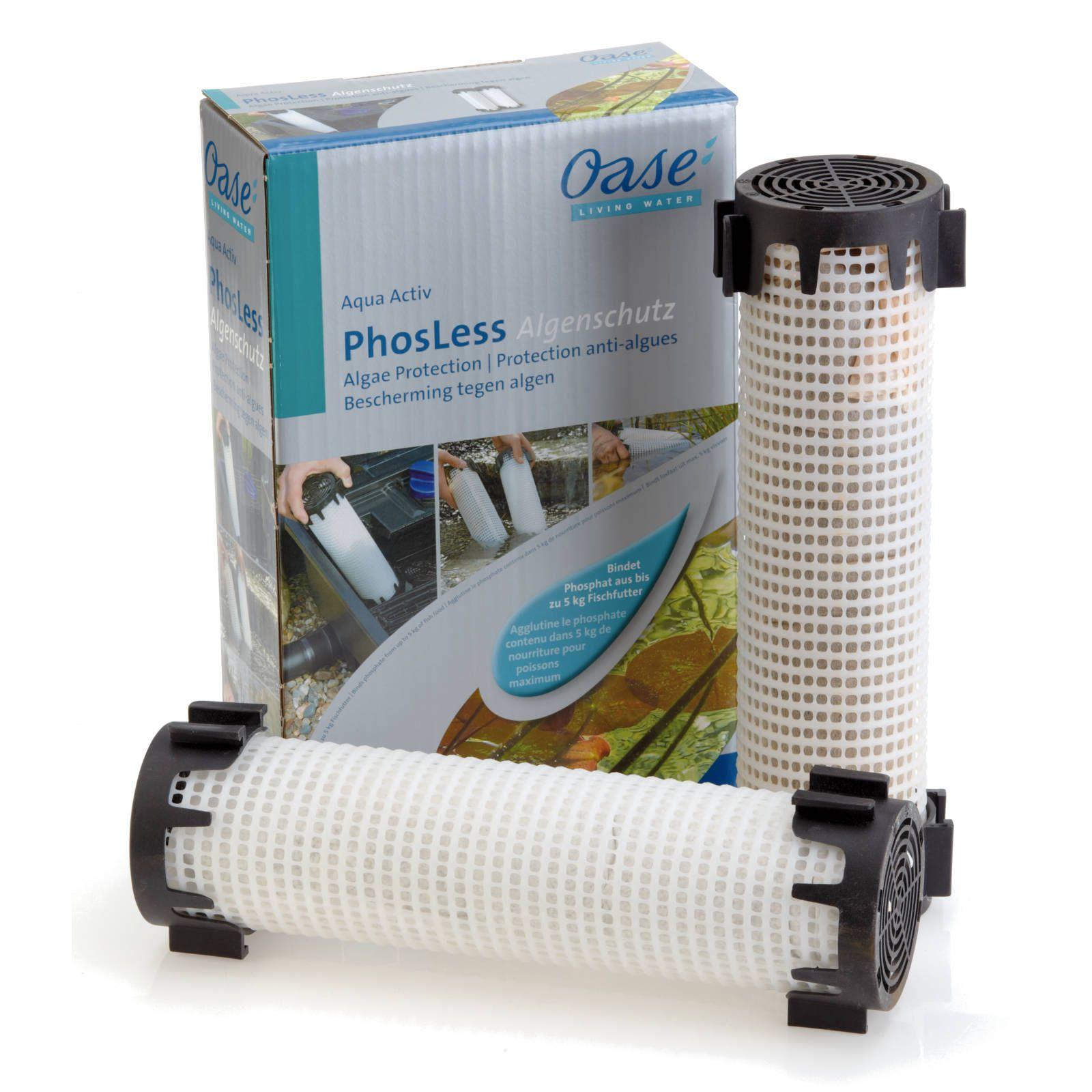 Oase AquaActiv PhosLess Algenschutz 2 Säulen je 1 L