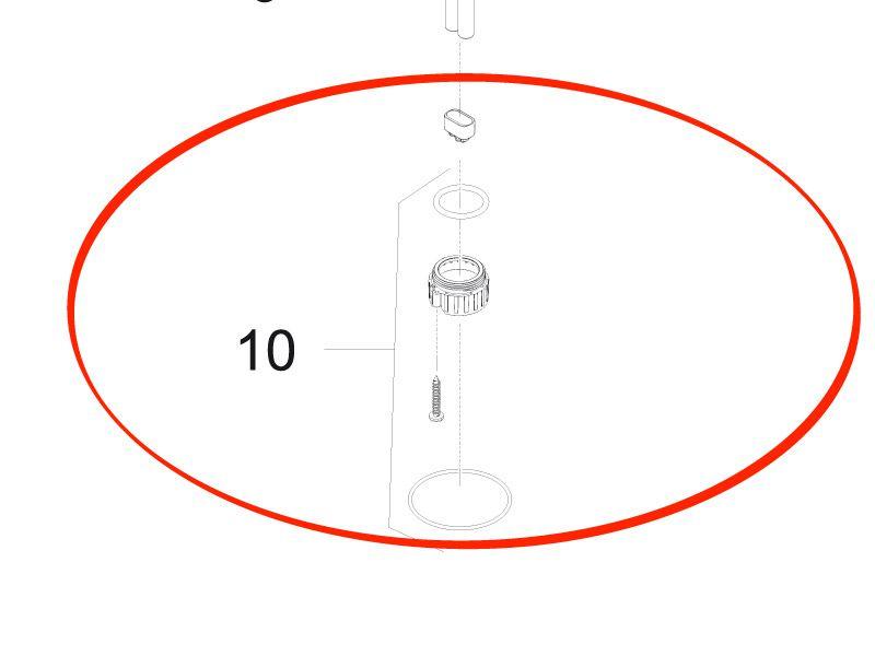 Ersatz Klemmschrauben Set UVC 7 / 9 / 11 W