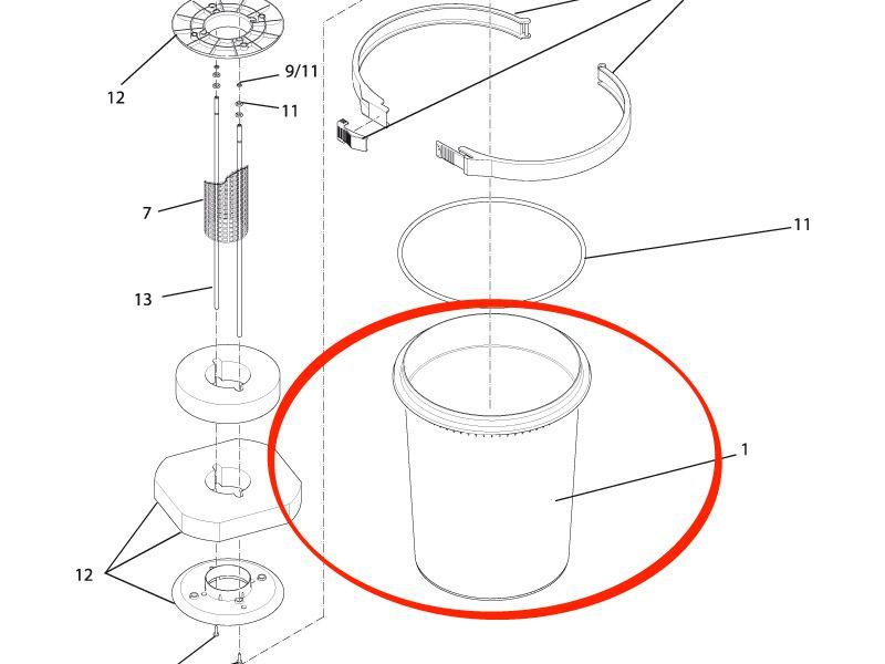 Behälter FiltoClear 15000 / 20000 / 30000