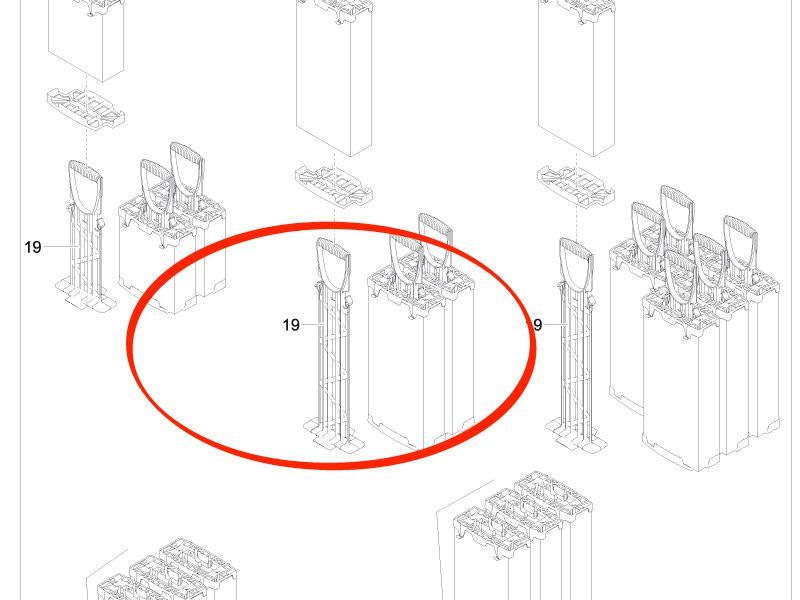 Schaumhalter FiltoMatic 6000 / 12000