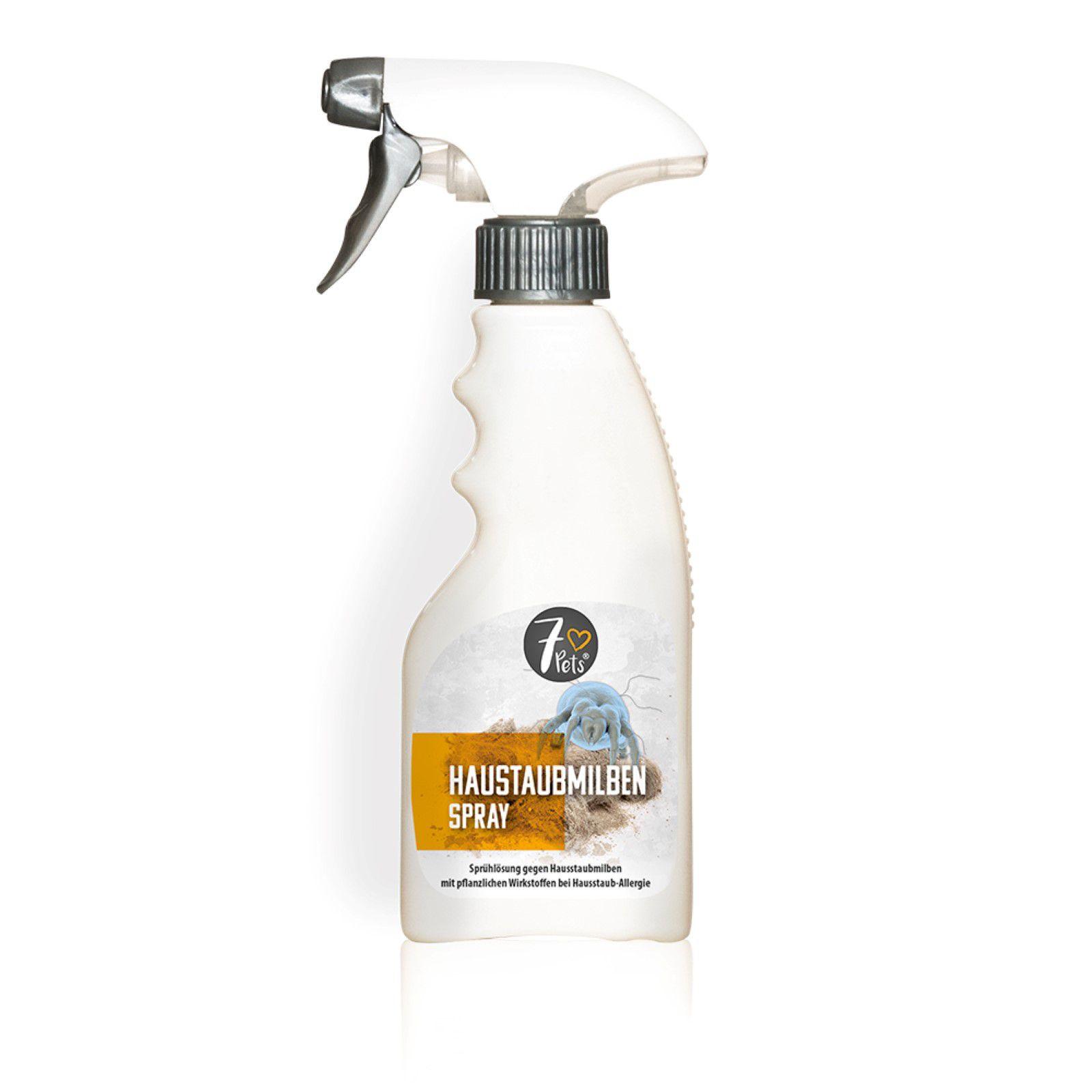 7 ♥ Pets Hausstaubmilben Spray - Sprühlösung gegen Hausstaubmilben