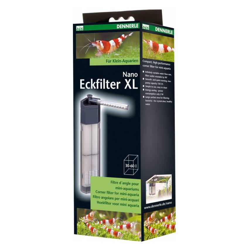 Dennerle Nano Eckfilter XL für Aquarien von 30 - 60 L