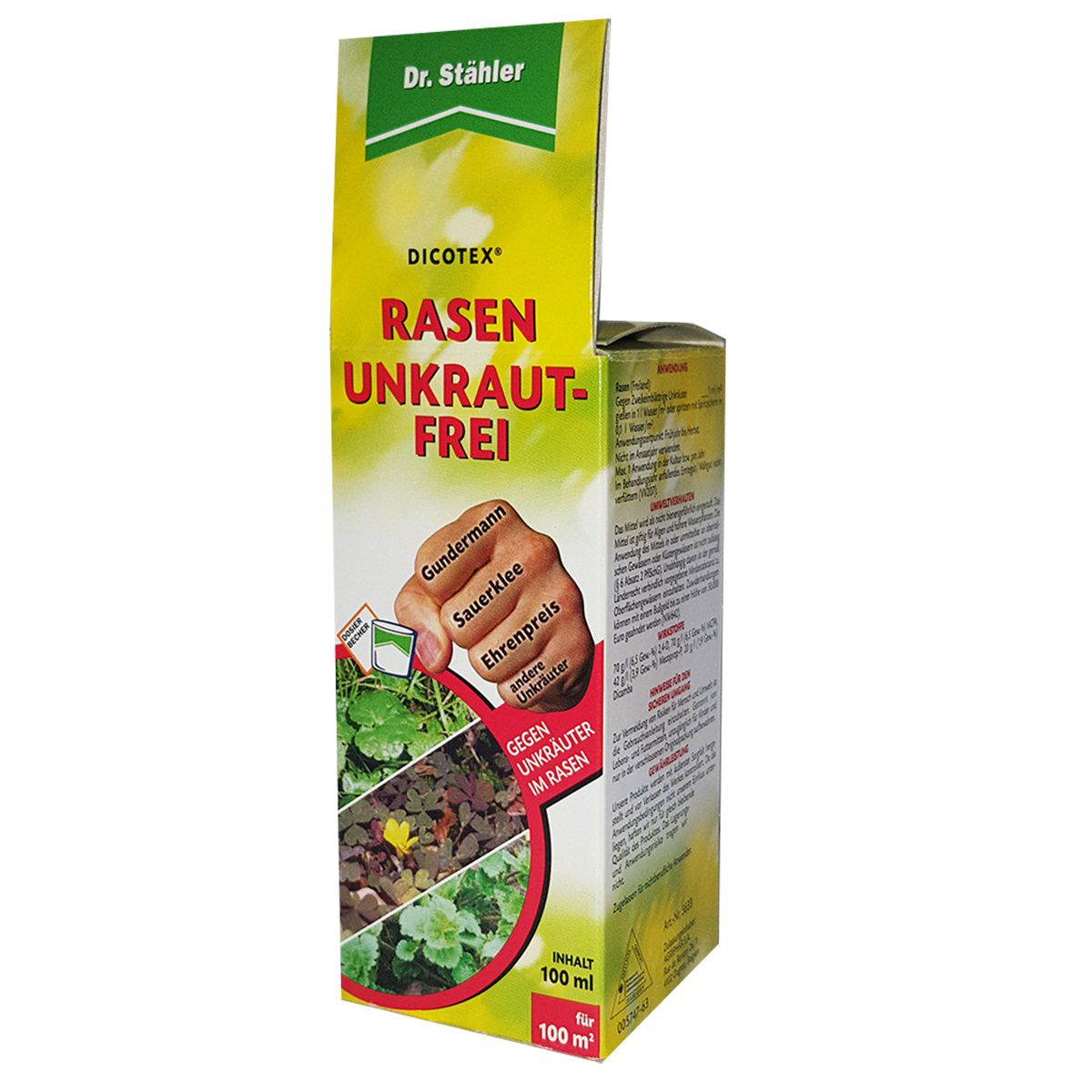 Dr. Stähler Dicotex Rasen Unkraut-Frei Super 100 ml für 100 m²