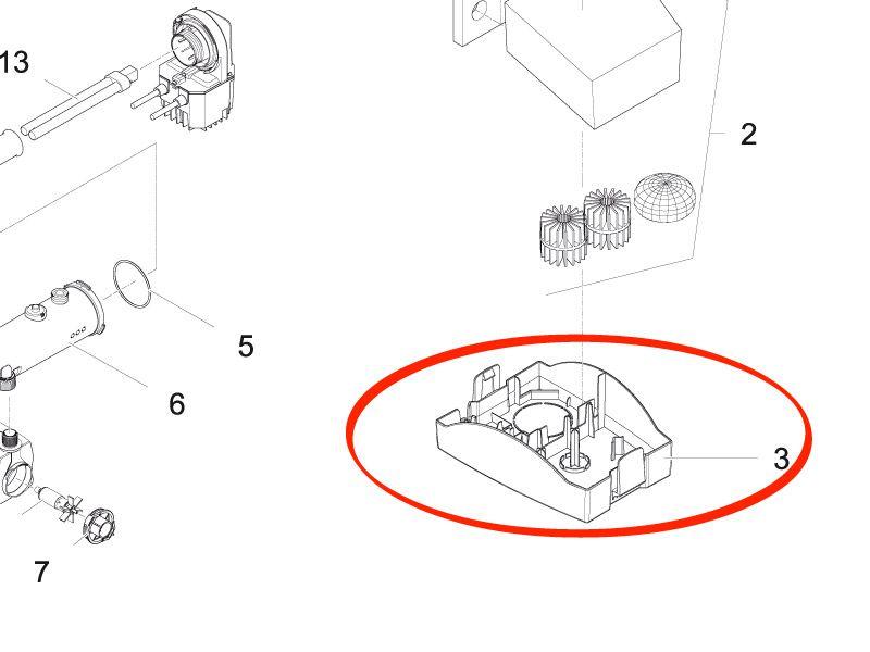 Unterschale für Filtral UVC 2500