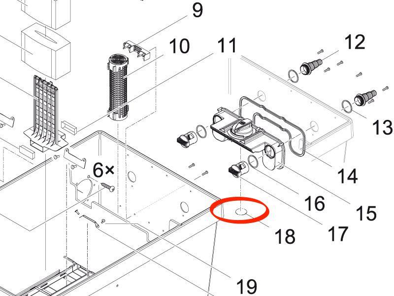 Abdeckung Verteiler GPN 915 / 35 schwarz