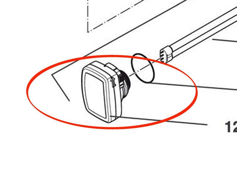 Ersatz UVC Elektronikeinheit Bitron C 72 - B72C