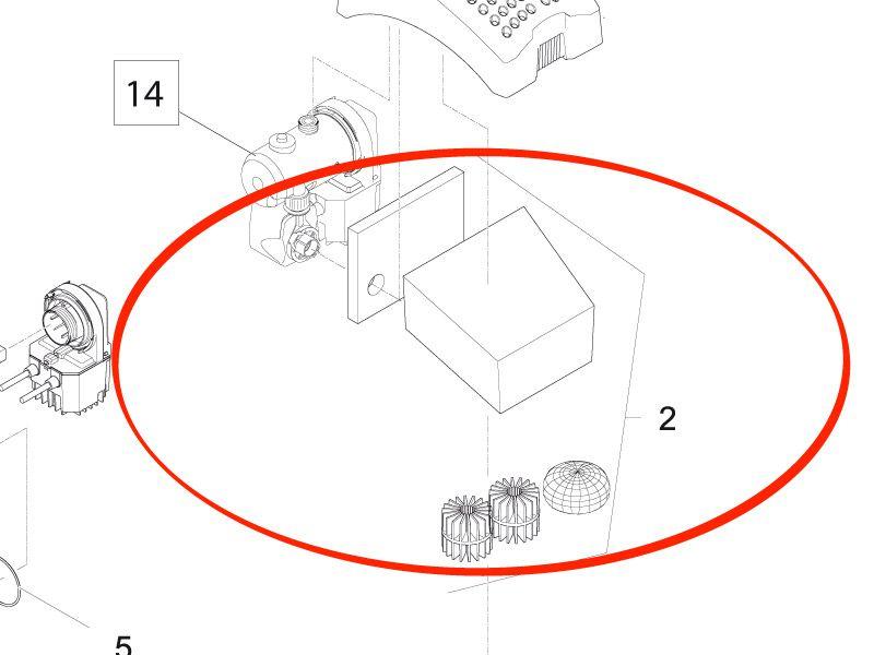 Ersatzfilter Set Filtral UVC 2500