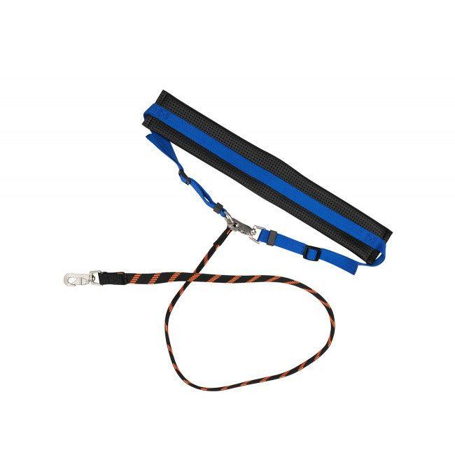 ebi D&D Sports Club blue - Jogging-Leine, elastisch, blau, 115 cm