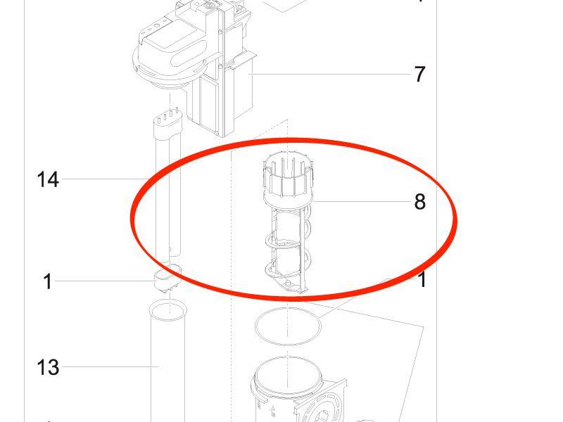 BG Reinigungsrotor FiltoMatic UVC 24