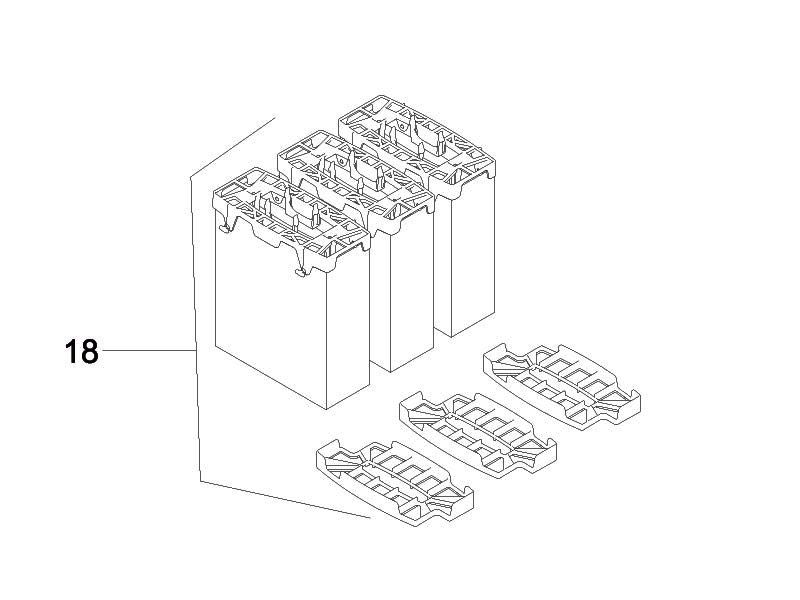 Filterpatronenset FiltoMatic CWS 14000 / 25000