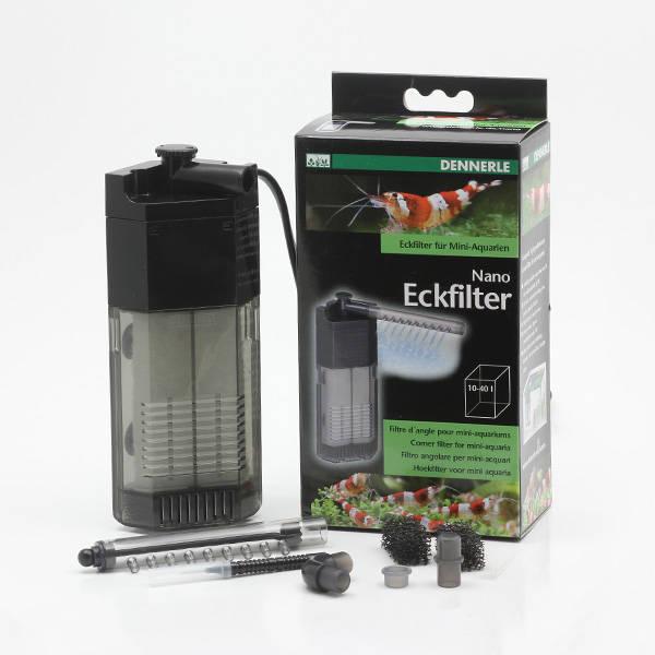 Dennerle Nano Eckfilter für Aquarien von 10 - 40 L