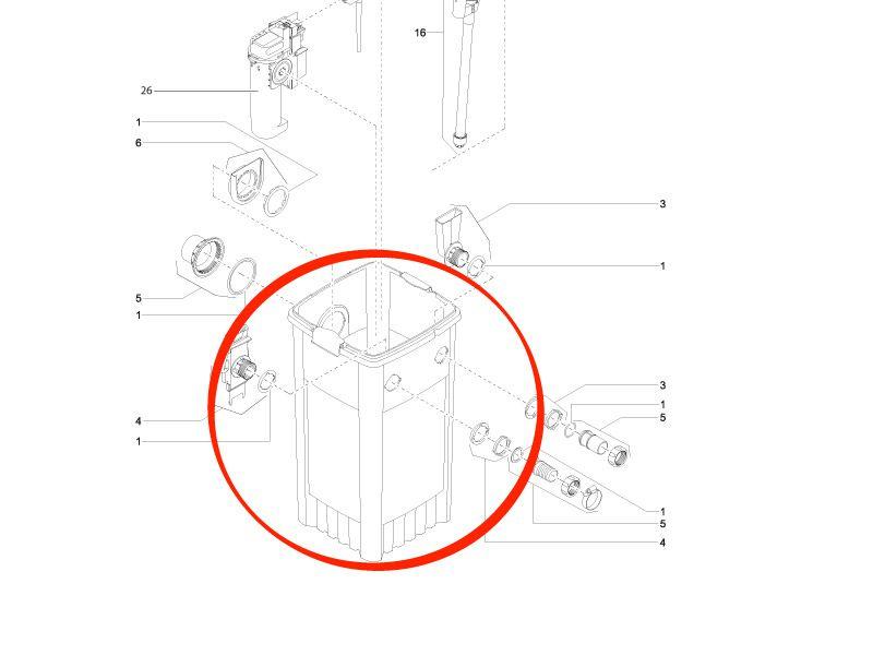 BG Behälter FiltoMatic 12000
