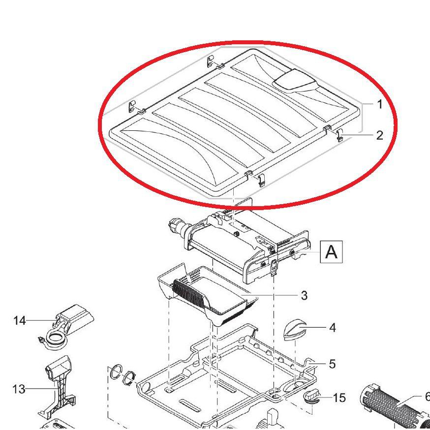 Oase Ersatz BG Filterdeckel inkl. Designblende BioTec Screenmatic
