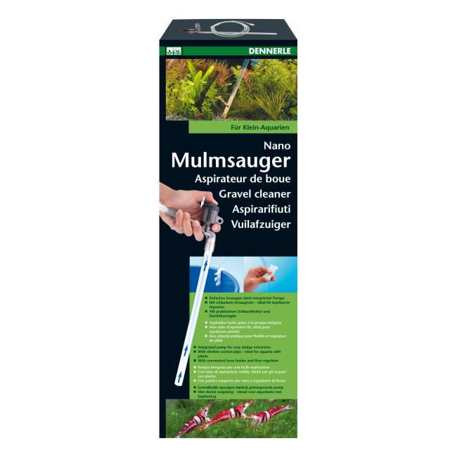 Dennerle Nano Mulmsauger für Aquarien von 10 - 40 L