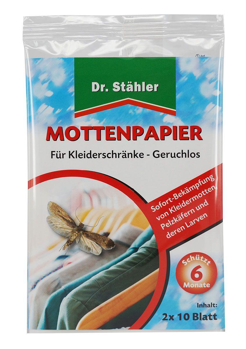 Dr. Stähler Mottenpapier 2 x 10 Blatt