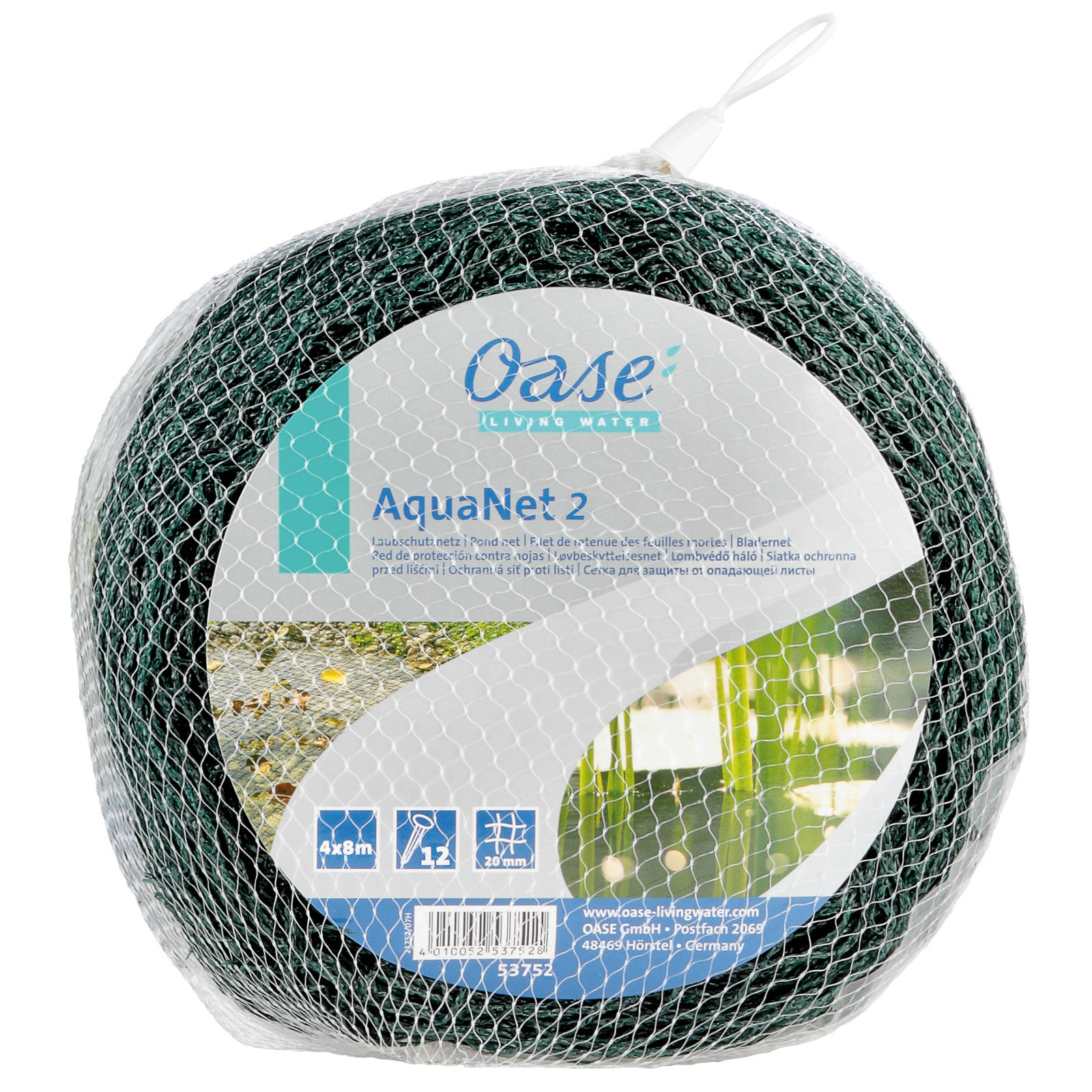 Oase AquaNet Teichnetz 2 / 4 x 8 m