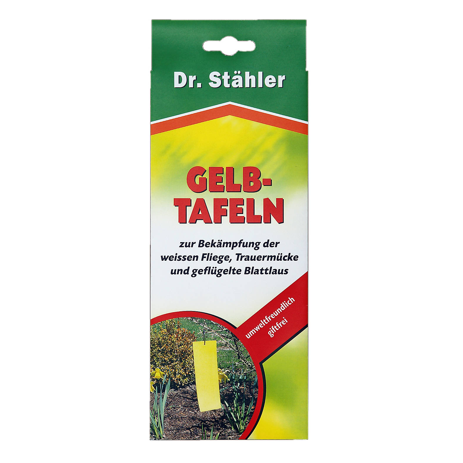 Dr. Stähler Gelbtafeln 6 Stück 20 x 8 cm