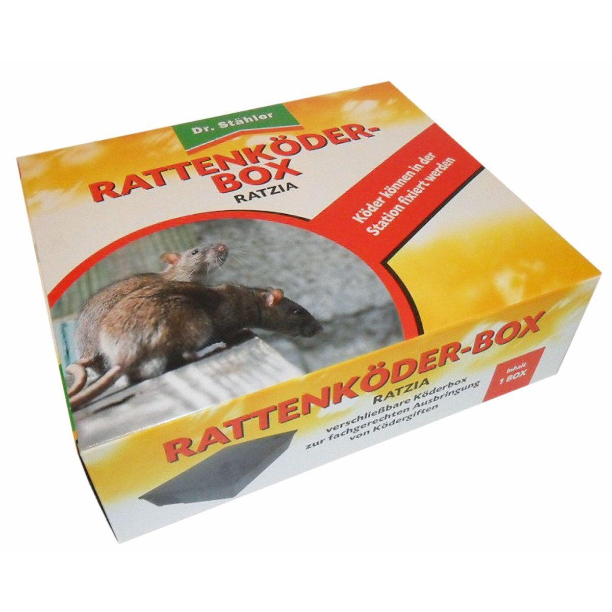 Dr. Stähler Ratzia Rattenköder-Box schwarz