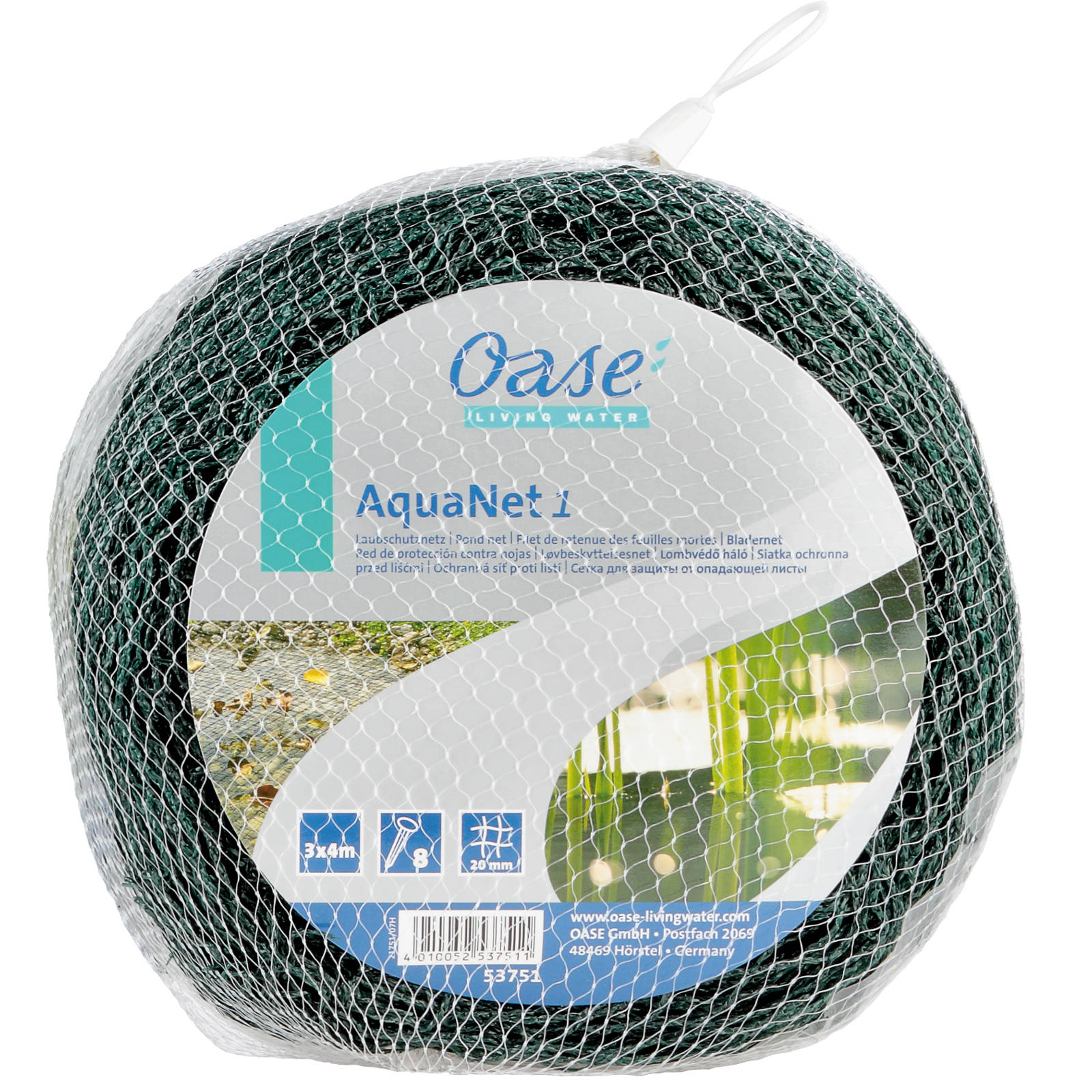 Oase AquaNet Teichnetz 1 / 3 x 4 m