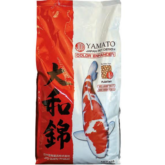 JPD Yamato Nishiki Koi Futter medium 4 mm 10 kg