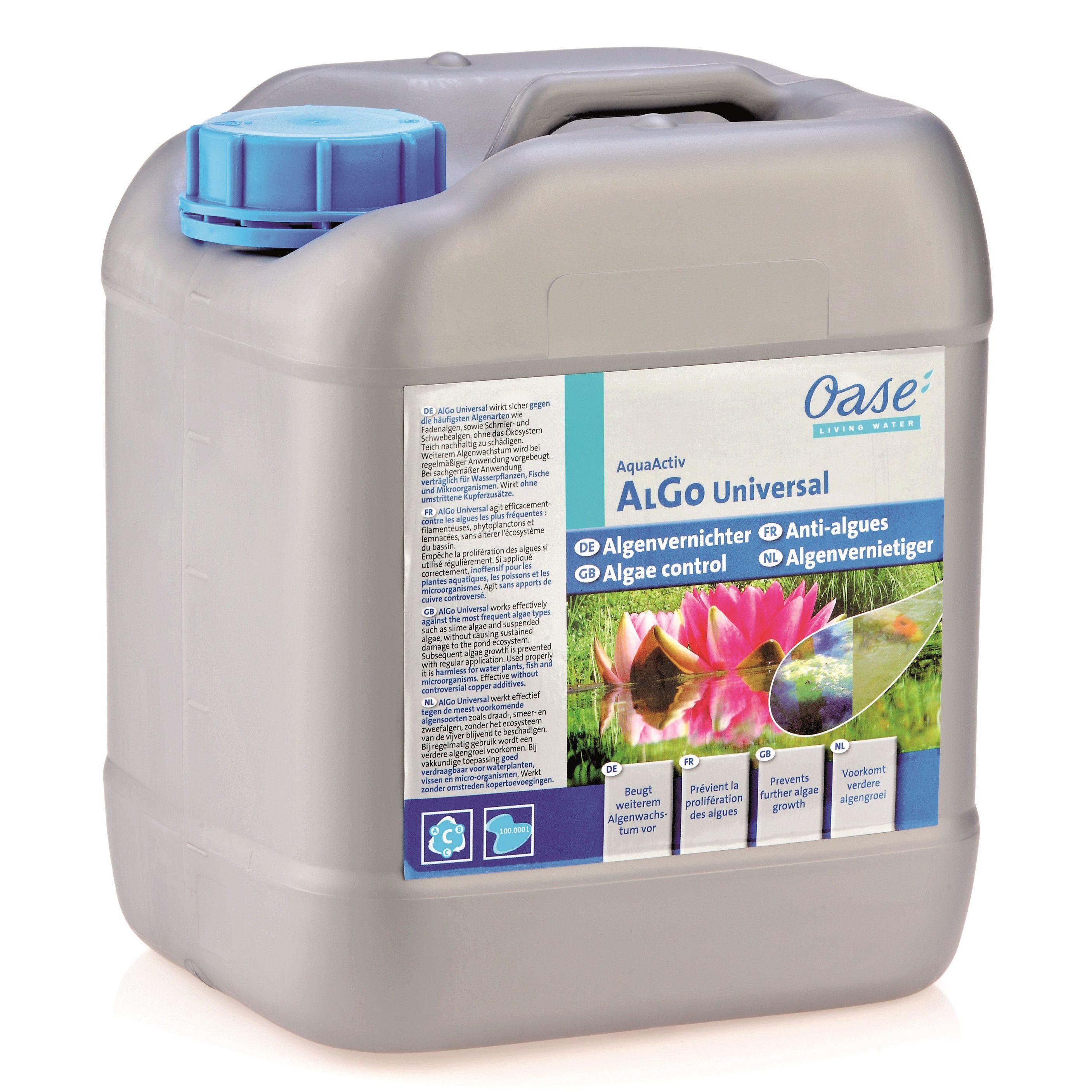 Oase AquaActiv AlGo Universal Algenvernichter 5000 ml für 10000 L