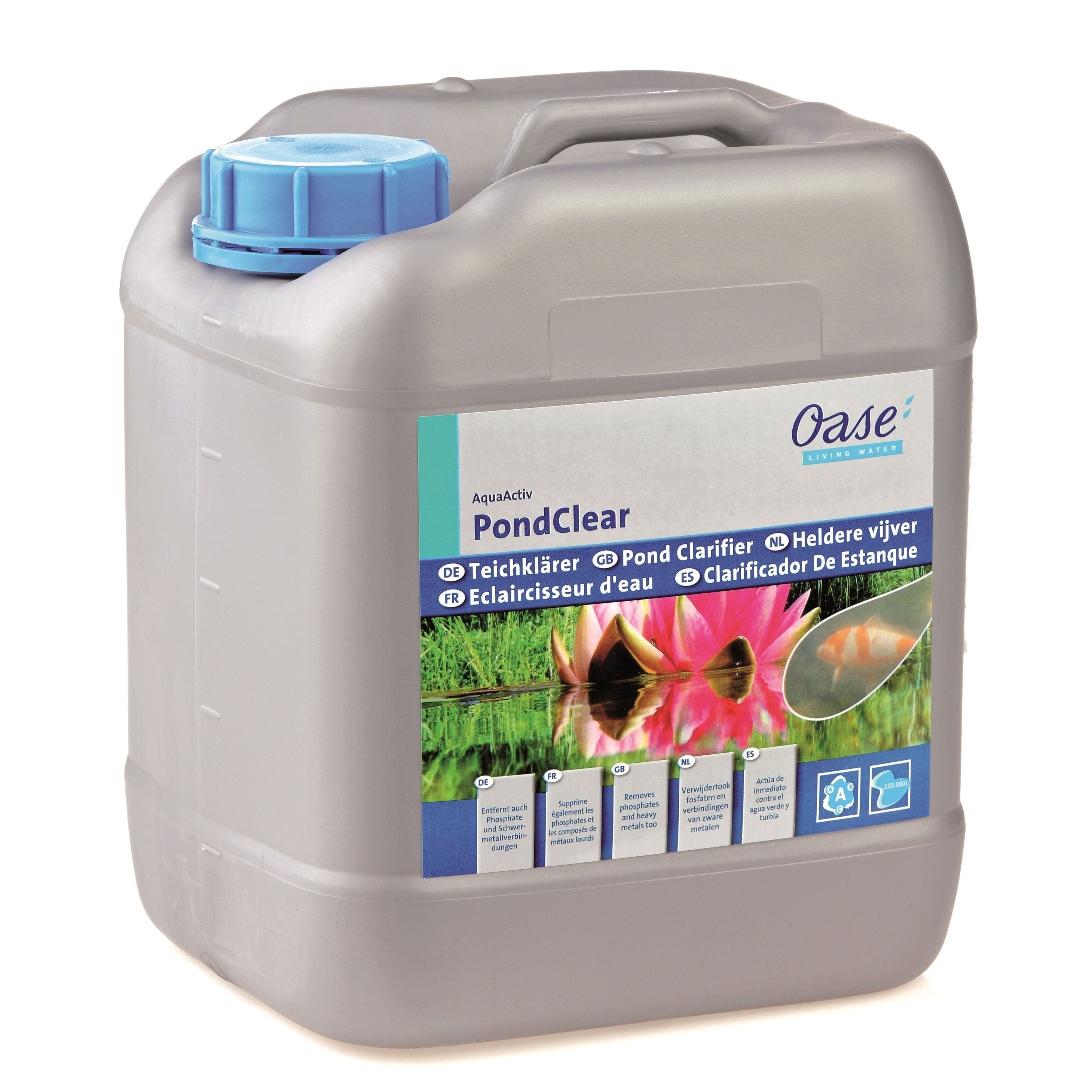 Oase AquaActiv PondClear Teichklärer 5000 ml für 100000 L