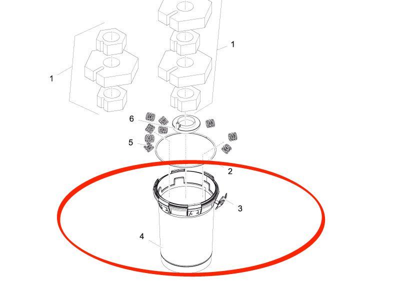 Behälter BioPress 6000 / 8000 - Pontec PondoPress Set 10000